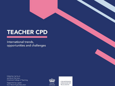 Chartered College of Teaching releases new international CPD news image